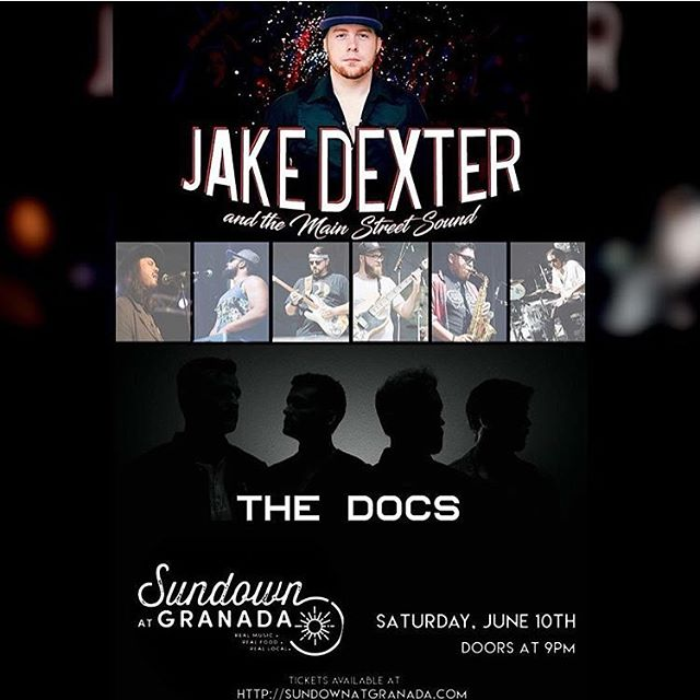 Next Saturday in Dallas, TX at @sundownatgranada w/ @jakedextermusic  #thedocs #thedocsmusic #jakedextermusic #dallas #dallasmusicscene #dallasmusic #livemusic #picoftheday