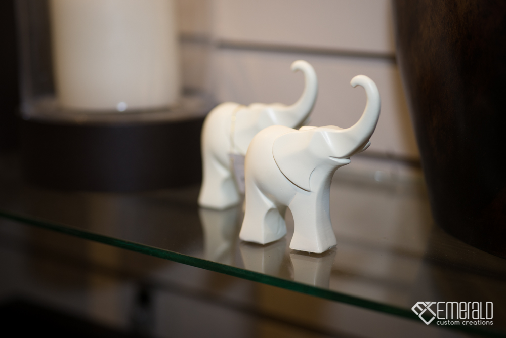 Little elephant ornaments