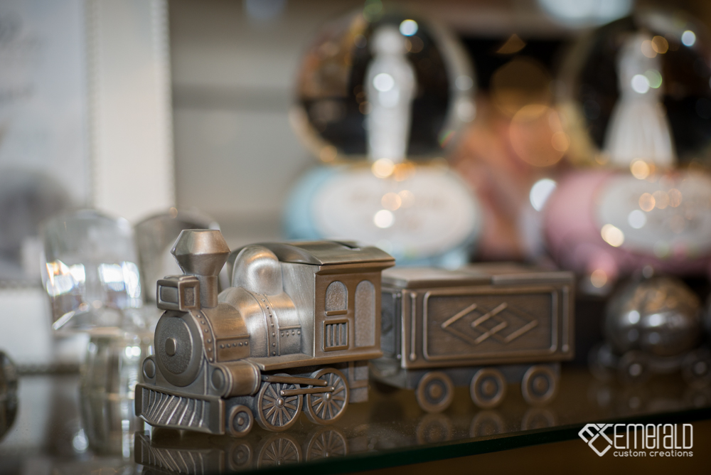 Baby Train Ornament