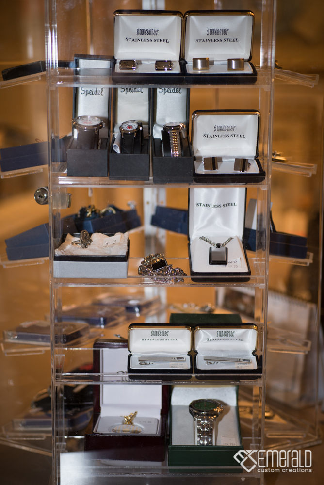 Men's Accessories Display