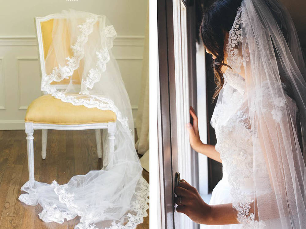 Handmade veil inspiration, by my mother