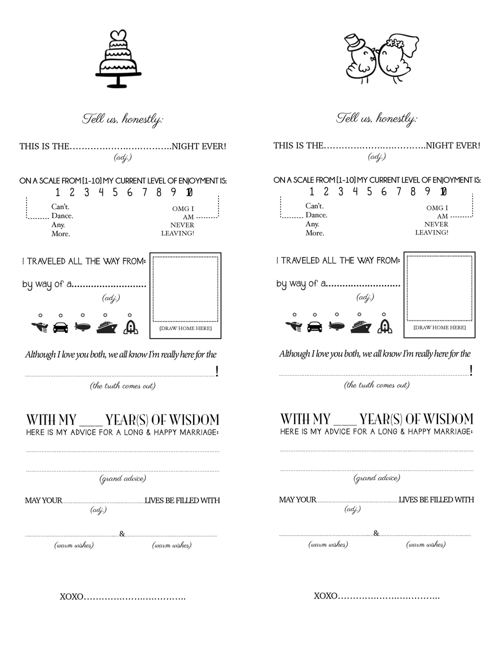 printable survey template – Printable Survey Template