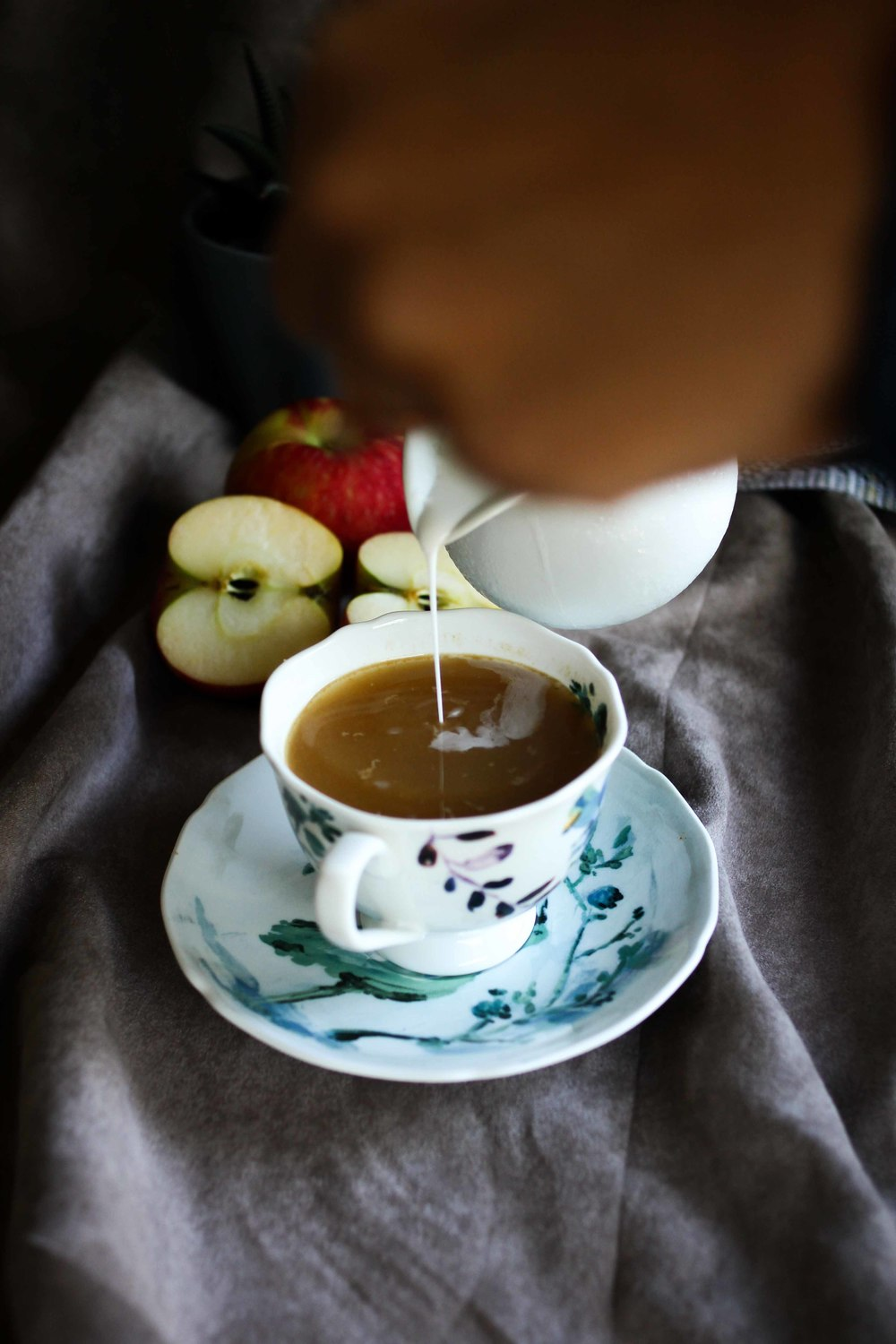 Creamy Apple Cider | All the Delights
