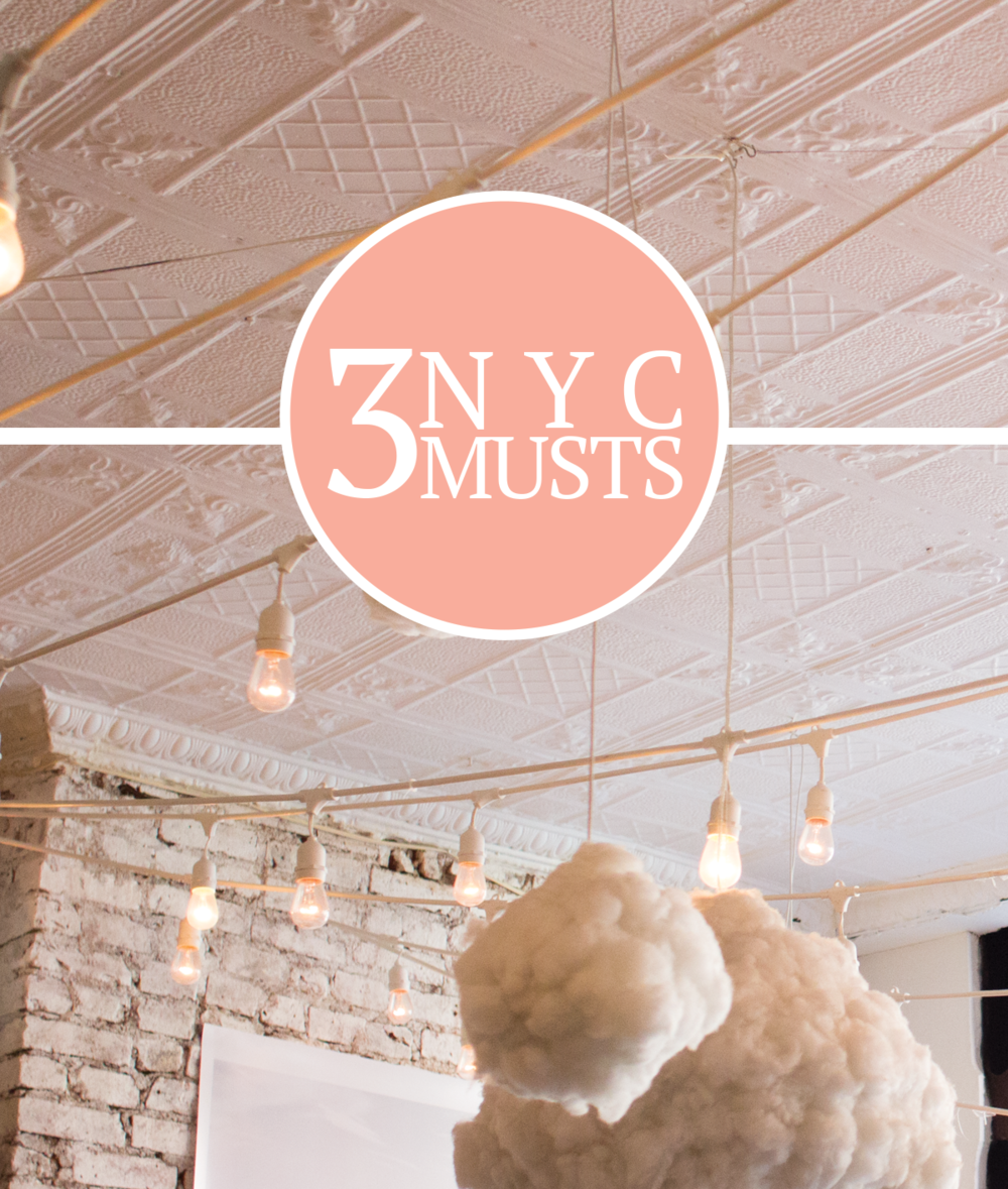 3 NYC Musts from 2 Former New Yorkers via All the Delights