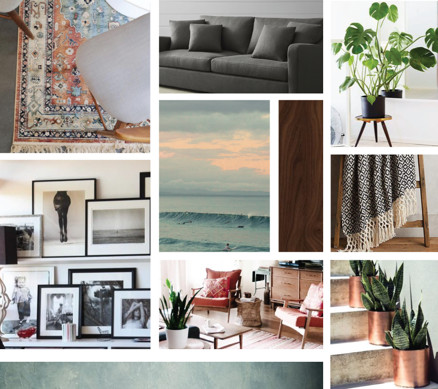 Mood Board: California Living Room