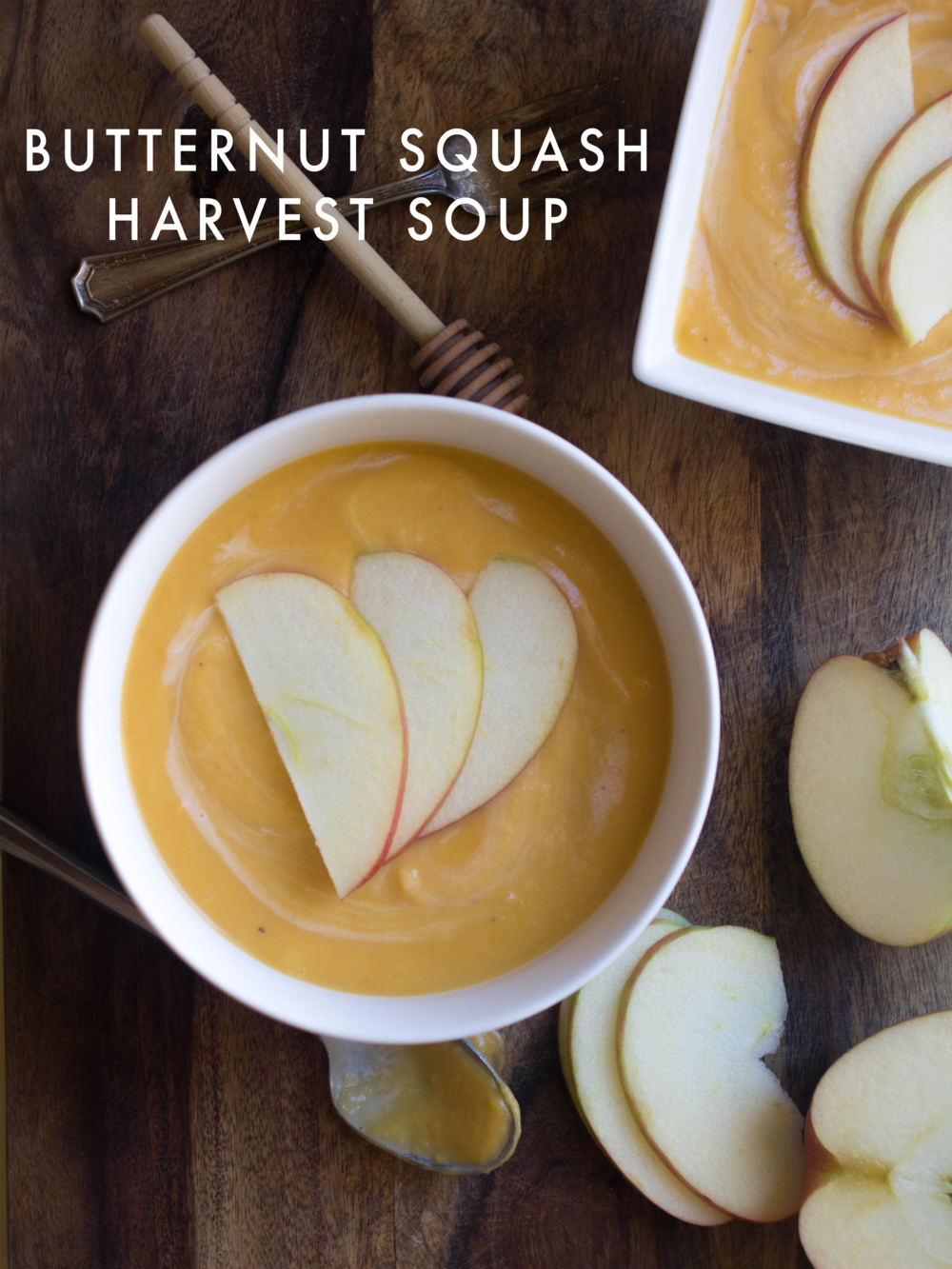 Butternut Squash Harvest Soup via All the Delights