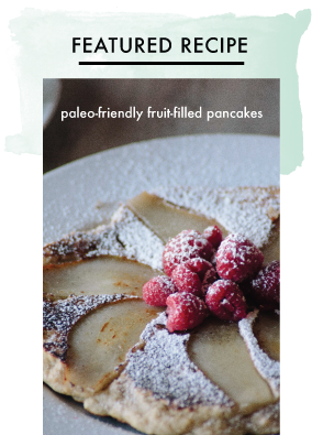 Paleo-Friendly Fruit-Filled Pancakes