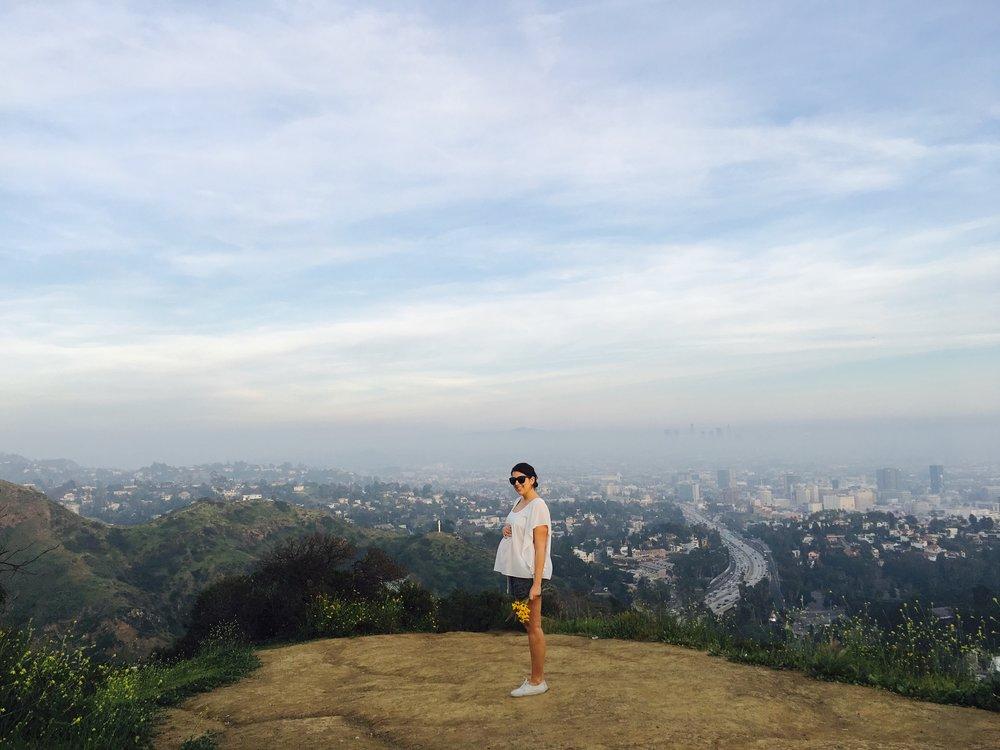 Pregnant over LA