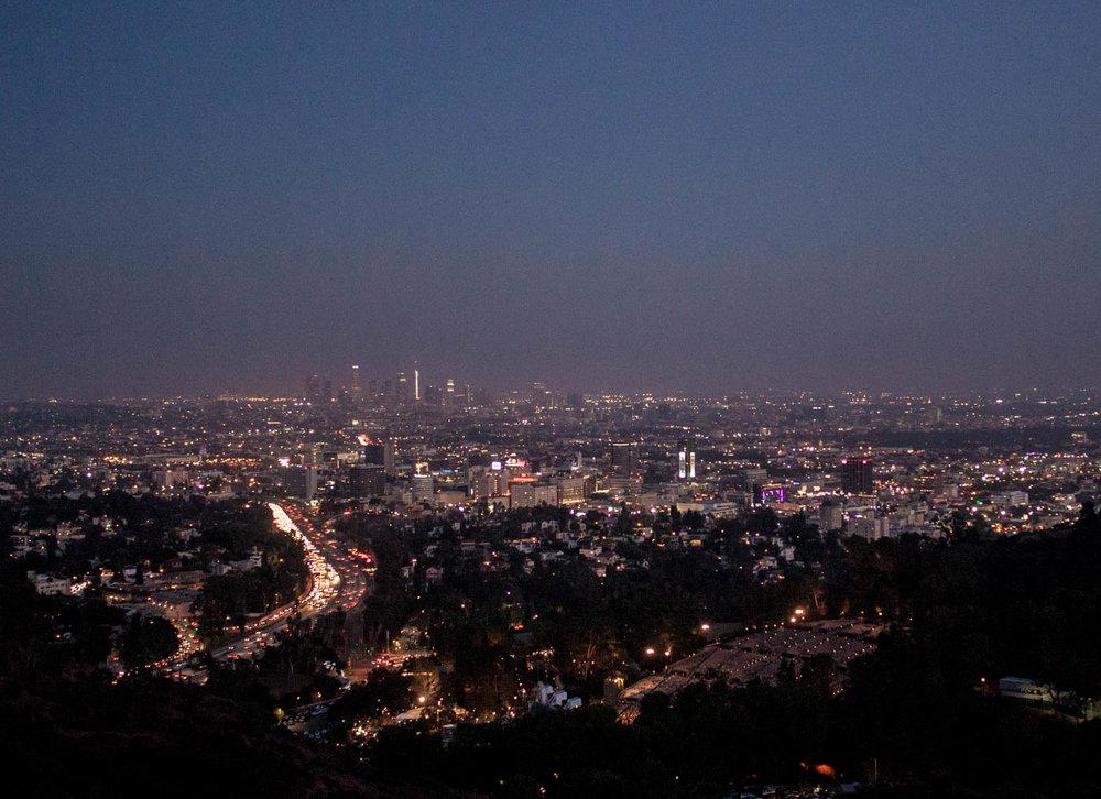 Los Angeles Mulholland Drive