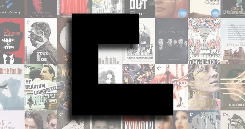 THE CRITERION COLLECTION'S CriterionCast: -
