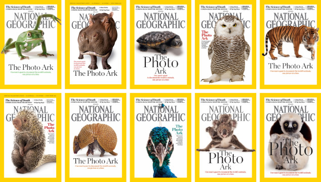 April 2016 Issue of National Geographic