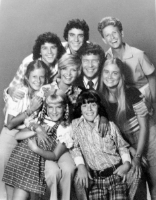 "Then this one day, the lady met this fellow..."" Photo Credit:Brady Bunch full cast 1973"" by ABC Television - eBay item photo front photo back. Licensed under Public Domain via  Wikimedia Commons -"