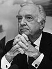 Somehow, the rich baritone and calm demeanor of Walter Cronkite completed the event. Photo Credit Rob Bogaerts. Licensed under CC BY-SA 3.0 nl via  Wikimedia Commons .