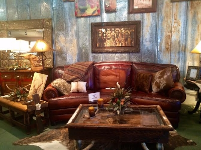 Exquisite ranch furnishings at Buck Fergeson in Bellville. Photo Credit: M'lissa Howen.