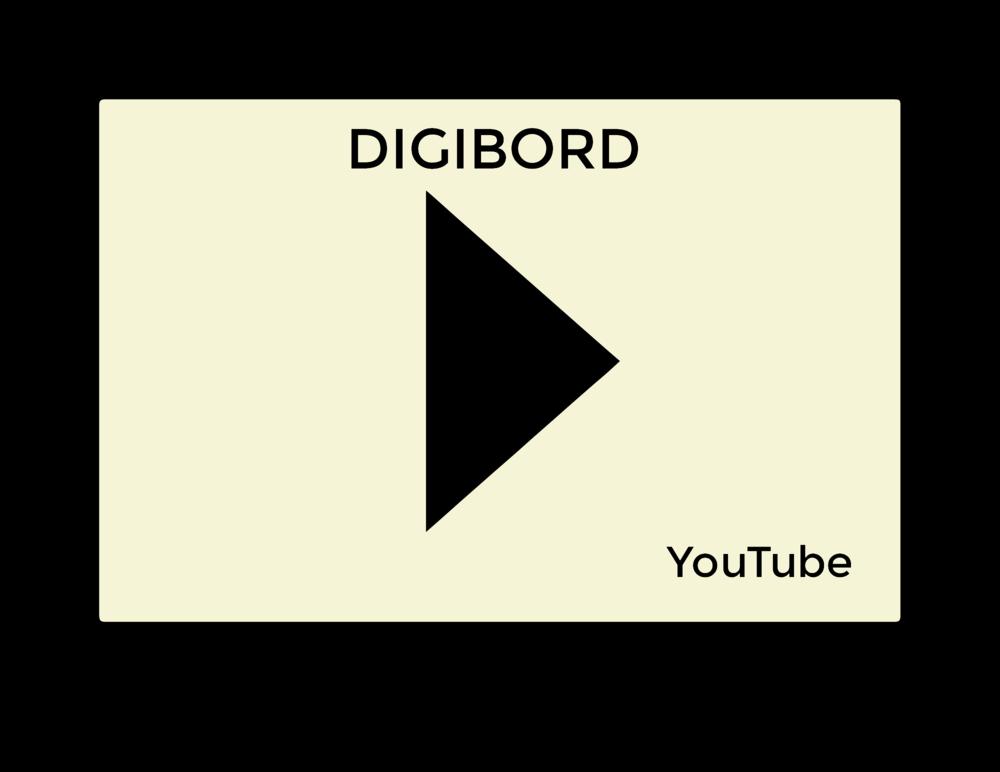 In de klas: Youtube op het Digibord. Youtube wordt vaak spontaan gebruikt om hetgeen tijdens de les aan bod komt toe te lichten. Een Digibord is in principe een lesmiddel. Een toelichting ad hoc maakt evenwel geen deel uit van een vooropgesteld leerplan.