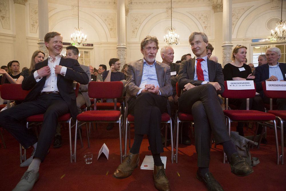 CPO Seminar Muziek & Recht in het Concertgebouw Amsterdam, 16 april 2018. Foto's: Sara Donkers