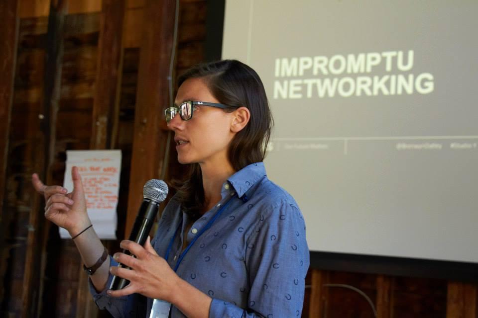 Providing a workshop at Middlebury College's June Forum on Social Enterprise Education