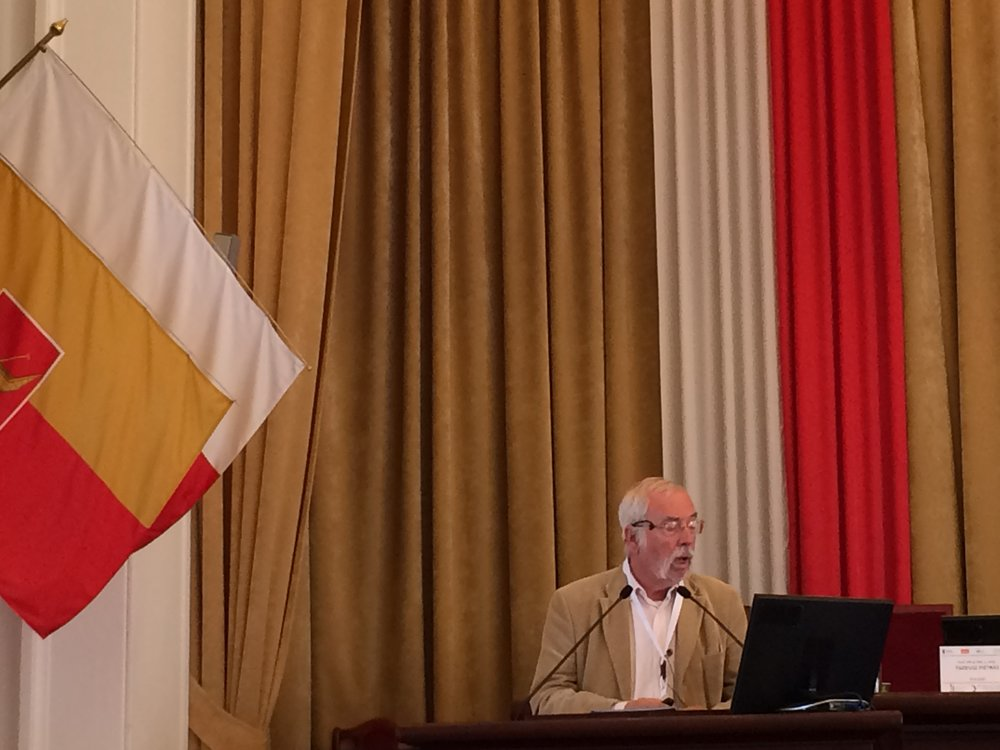Italian Lorenzo Toresini presents on the establishment of the first social firm in Italy.