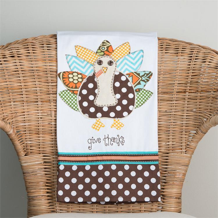 Give Thanks Tea Towel $16