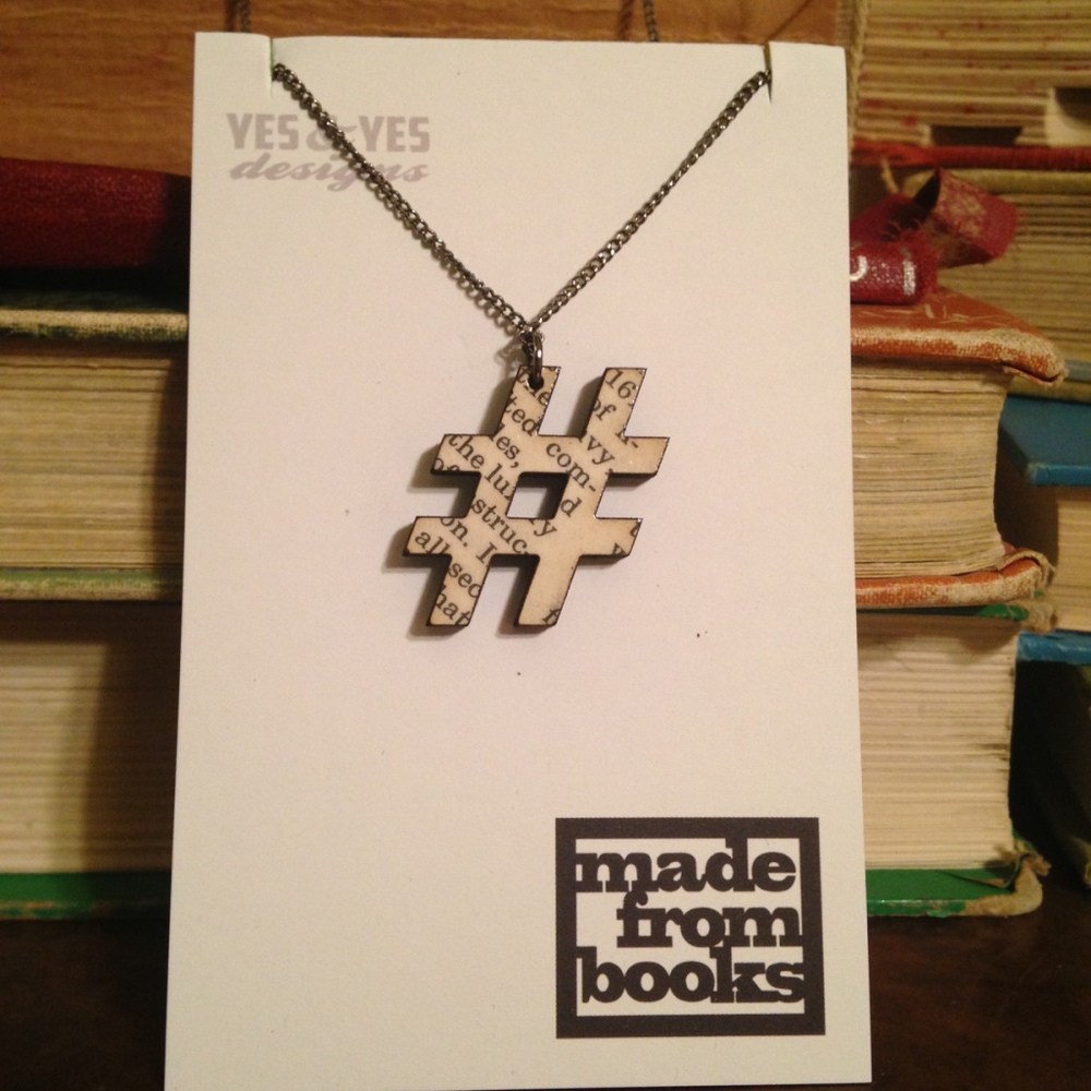TEXT # NECKLACE $22