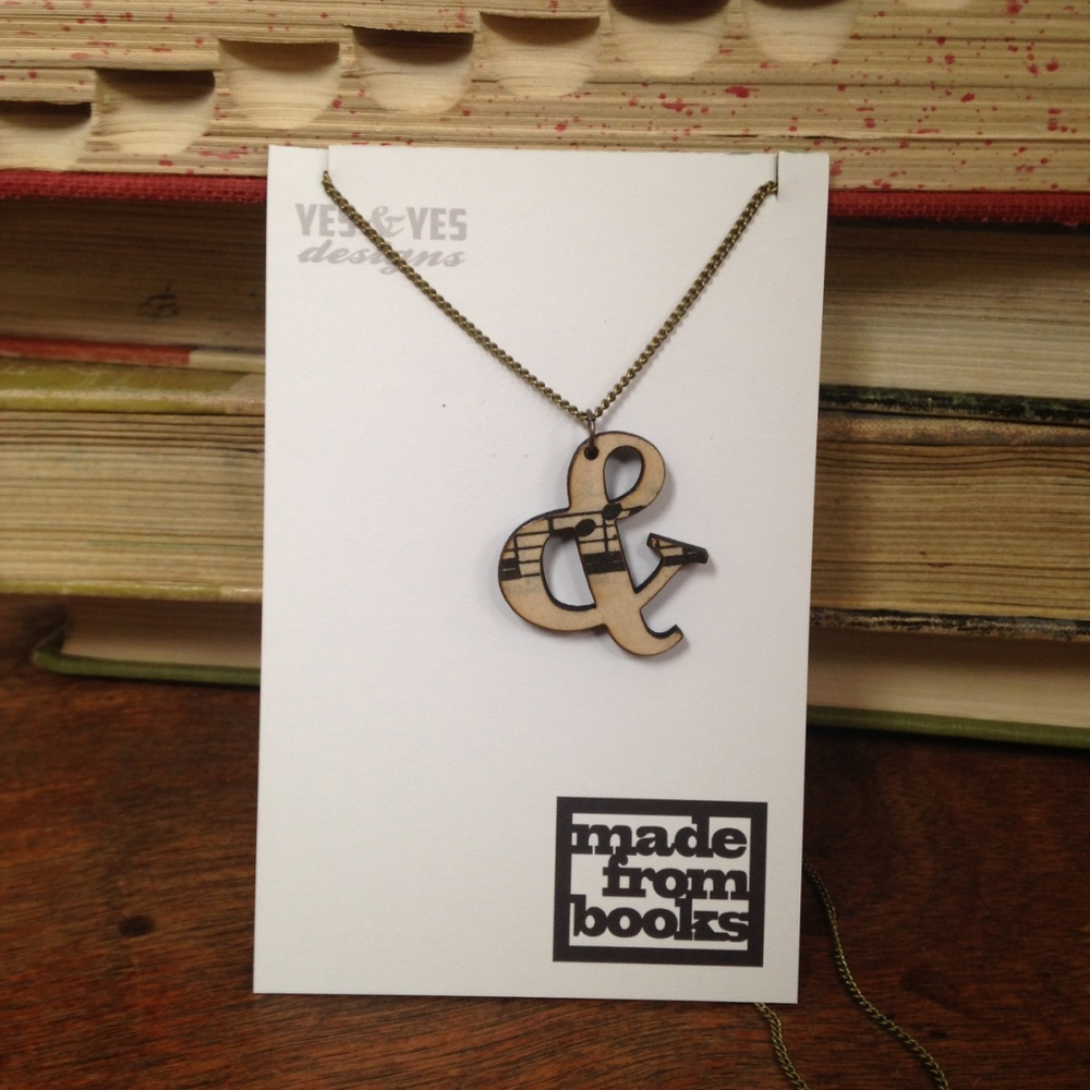 MUSIC & NECKLACE $22