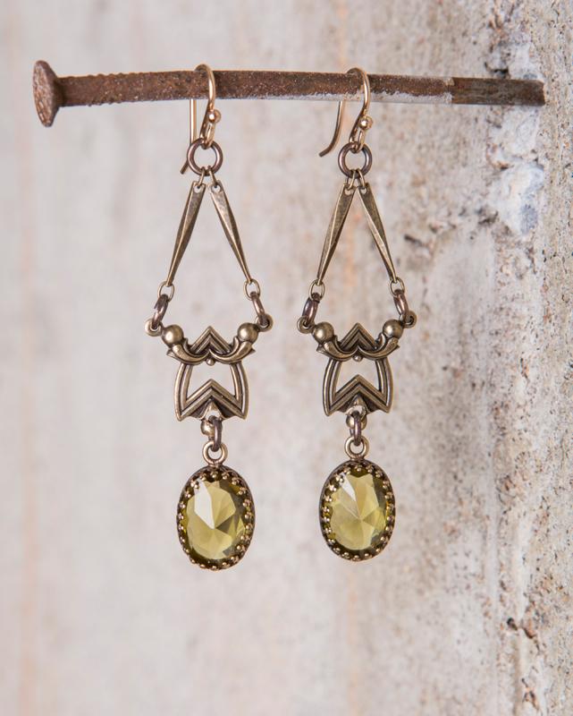 Olivine Swarovski Crystal Earrings_e-1506.jpg