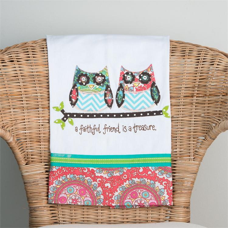 A FAITHFUL FRIEND' TEA TOWEL $16