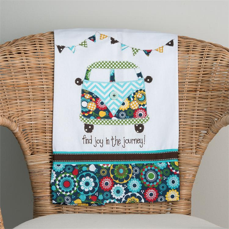 JOY IN THE JOURNEY' TEA TOWEL $16