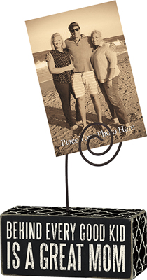 GREAT MOM' PHOTO BLOCK  $8