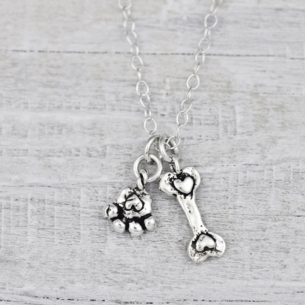 PUPPY LOVE NECKLACE   $56