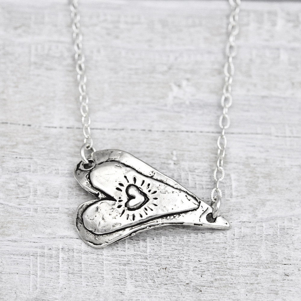 'WILLING HEART' NECKLACE   $64