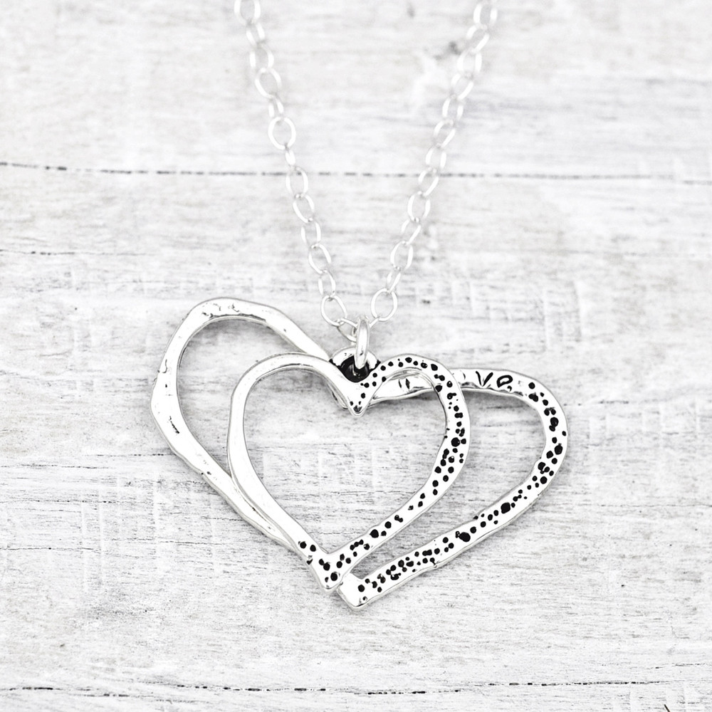 INSIDE MY HEART NECKLACE   $60