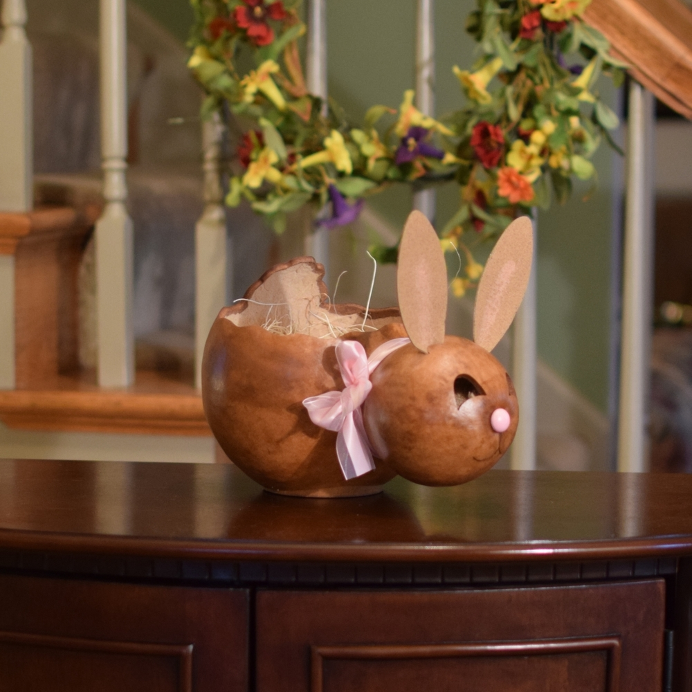 ASHLEY BUNNY BASKET - LARGE $46.00