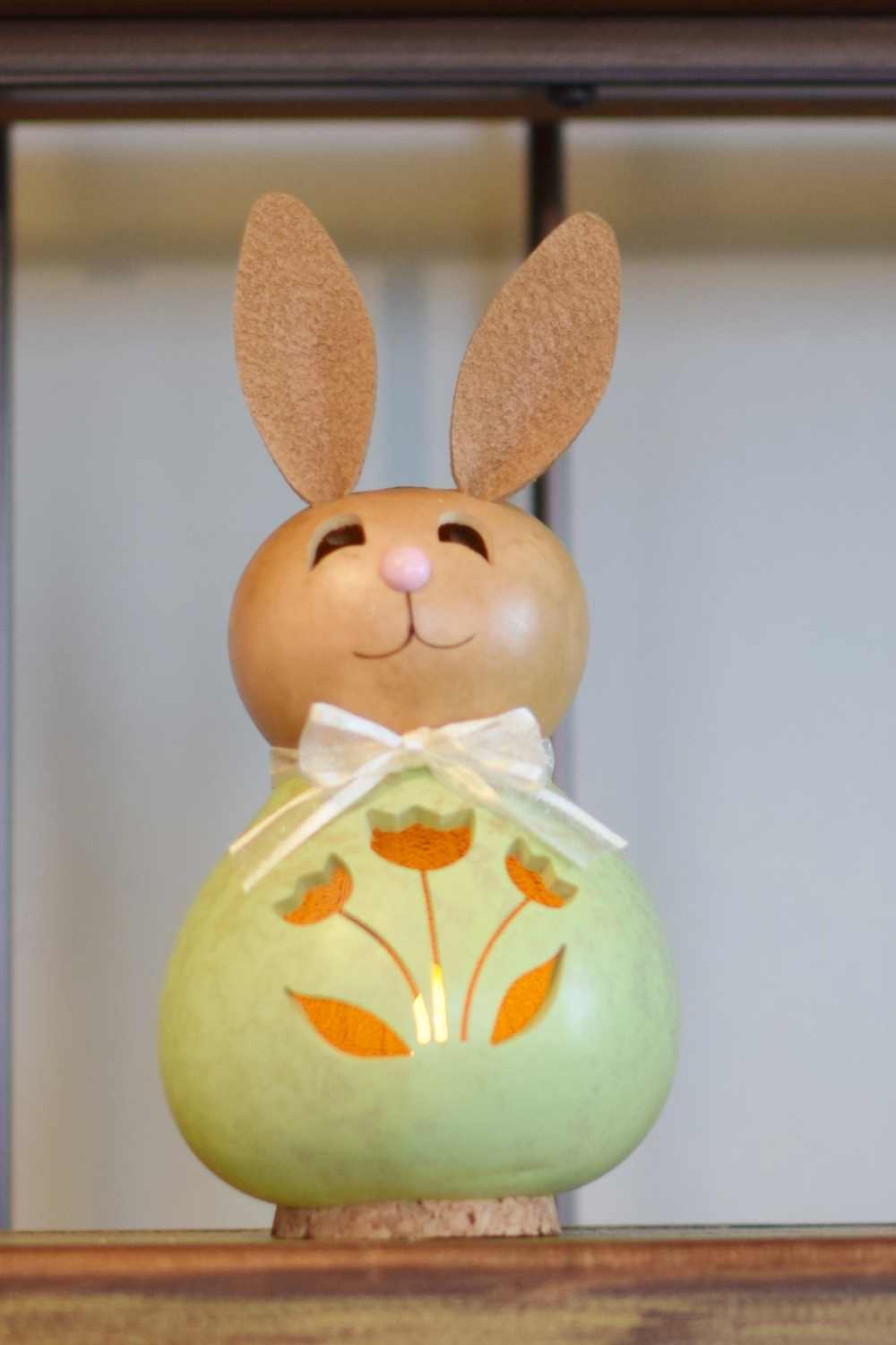 NATALIE SMALL BUNNY - GREEN $27.00
