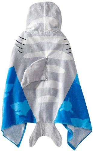 SHARK HOODED BEACH TOWEL $27