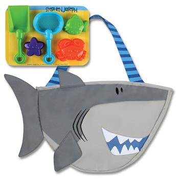 SHARK FISH BEACH TOTE $20