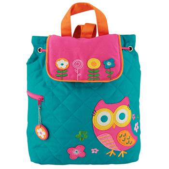 OWL QUILTED BACKPACK $25