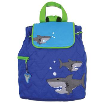 SHARK QUILTED BACKPACK $25