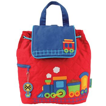 TRAIN QUILTED BACKPACK $25