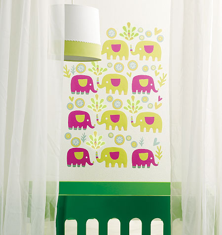 PINK ELEPHANT VINYL DECALS $20