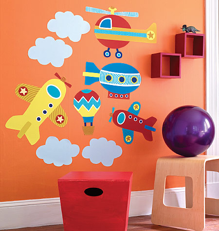 UP, UP AND AWAY VINYL DECALS $40