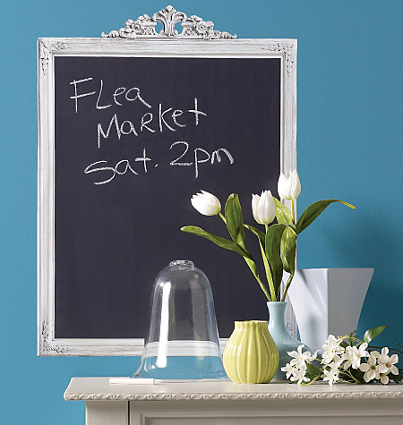 FRAMED CHALKBOARD VINYL DECAL $25