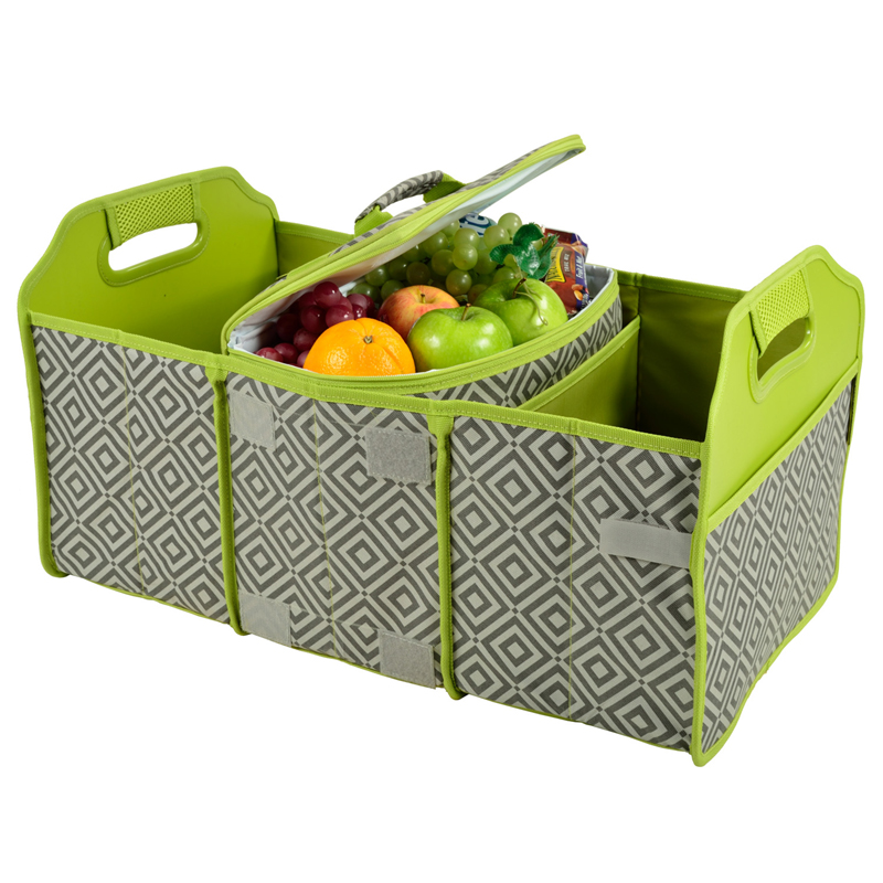COLLAPSIBLE TRUNK ORGANIZER-COOLER $54