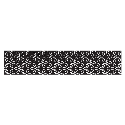 PEEL 'N STICK BLACK SWIRL WALLPAPER $20