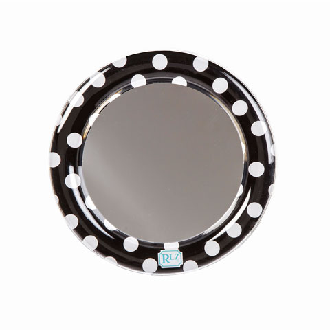 BLACK & WHITE MAGNETIC MIRROR $6