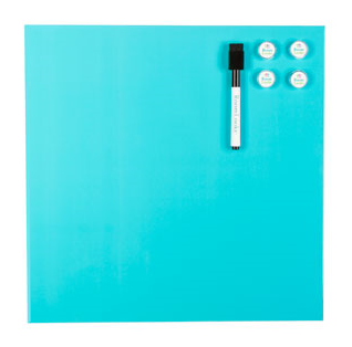 AQUA MAGNETIC DRY ERASE WALLBOARD $13