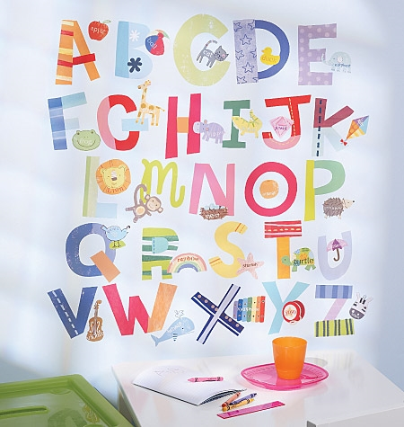 ALPHABET VINYL DECALS  $25