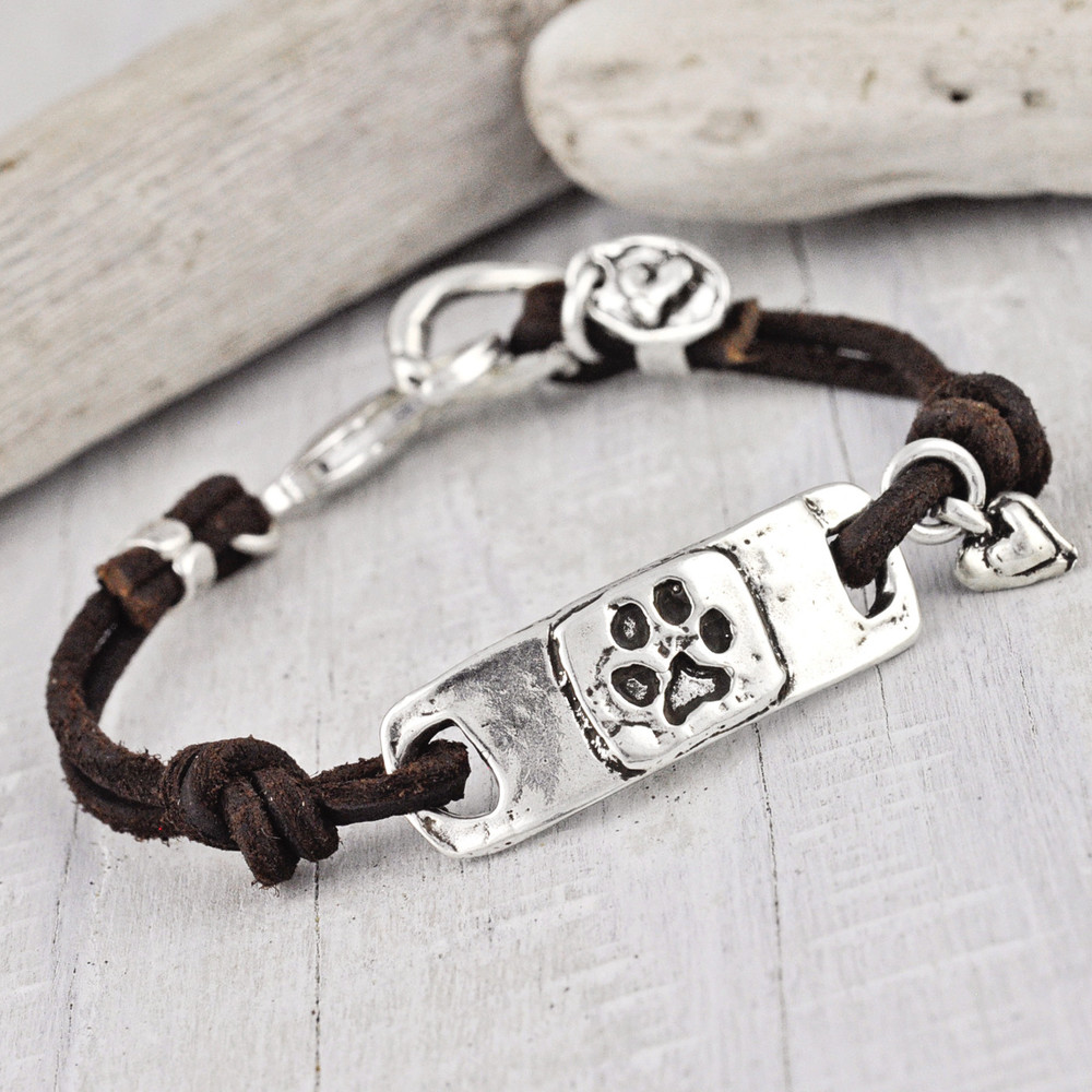 'I LOVE MY DAWG' BRACELET  $66