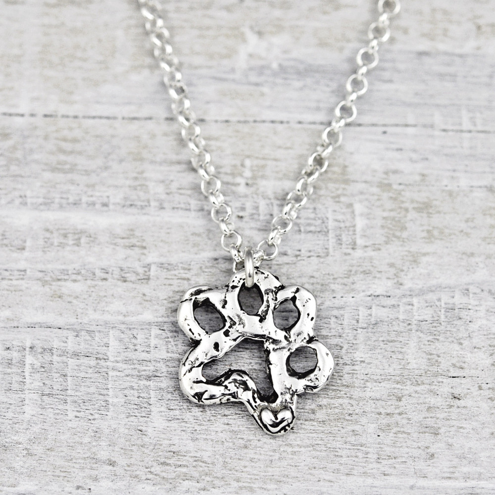 OPEN PAW NECKLACE  $48