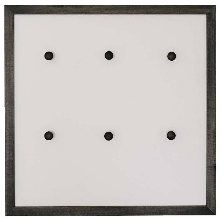 EBONY JEWELRY FRAME MAGNETIC BOARD $120
